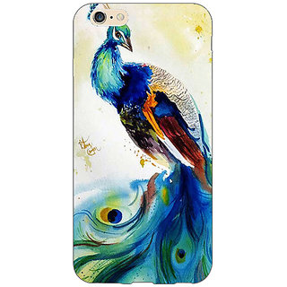 Jugaaduu Paisley Beautiful Peacock Back Cover Case For Apple iPhone 6S - J1081583