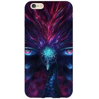 Jugaaduu Paisley Beautiful Peacock Back Cover Case For Apple iPhone 6S - J1081594