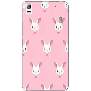 Jugaaduu Rabbit Back Cover Case For Lenovo K3 Note - J1120098