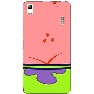 Jugaaduu Spongebob Patrick Back Cover Case For Lenovo K3 Note - J1120468