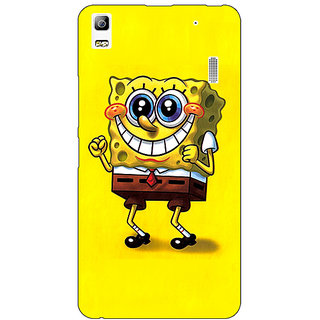Jugaaduu Spongebob Back Cover Case For Lenovo K3 Note - J1120470