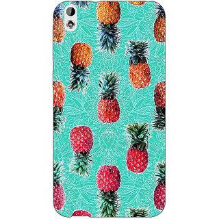 Jugaaduu Pineapple Pattern Back Cover Case For HTC Desire 816 Dual Sim - J1060246