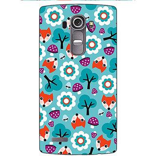 Jugaaduu Winter Pattern  Back Cover Case For LG G4 - J1100655