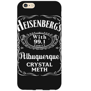 Jugaaduu Breaking Bad Heisenberg Back Cover Case For Apple iPhone 6S Plus - J1090402