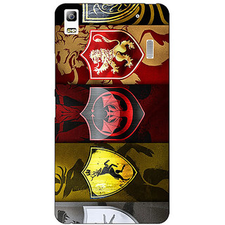 Jugaaduu Game Of Thrones GOT  Back Cover Case For Lenovo K3 Note - J1120119