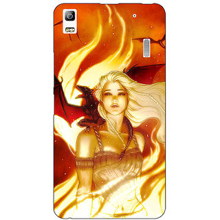 Jugaaduu Game Of Thrones GOT House Targaryen  Back Cover Case For Lenovo K3 Note - J1120146