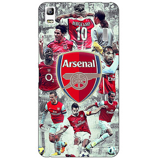 Jugaaduu Arsenal Therry Henry Back Cover Case For Lenovo K3 Note - J1120508