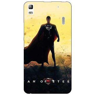 Jugaaduu Superheroes Superman Back Cover Case For Lenovo K3 Note - J1120877