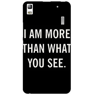 Jugaaduu Quote Back Cover Case For Lenovo K3 Note - J1121230