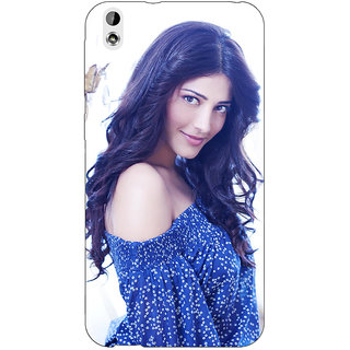 Jugaaduu Bollywood Superstar Shruti Hassan Back Cover Case For HTC Desire 816 Dual Sim - J1061065