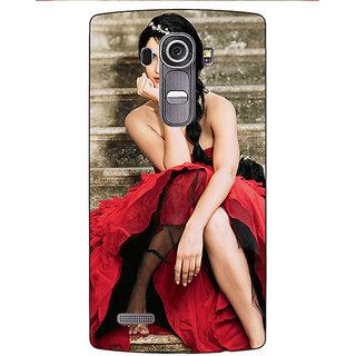 Jugaaduu Bollywood Superstar Katrina Kaif Back Cover Case For LG G4 - J1101046