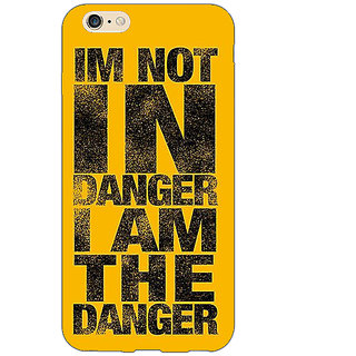 Jugaaduu Breaking Bad Heisenberg Back Cover Case For Apple iPhone 6S Plus - J1090409