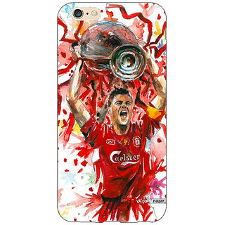 Jugaaduu Liverpool Gerrard Back Cover Case For Apple iPhone 6S - J1080550