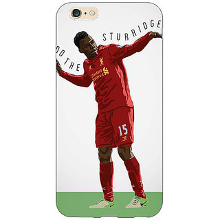 Jugaaduu Liverpool Sturridge Back Cover Case For Apple iPhone 6S - J1080552