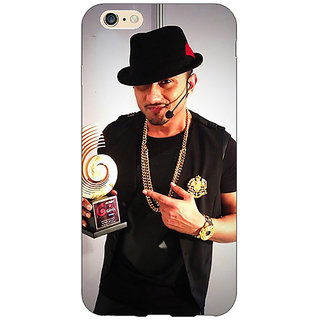 Jugaaduu Bollywood Superstar Honey Singh Back Cover Case For Apple iPhone 6S Plus - J1091180