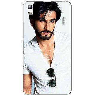 Jugaaduu Bollywood Superstar Ranveer Singh Back Cover Case For Lenovo K3 Note - J1120957