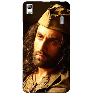 Jugaaduu Bollywood Superstar Ranbir Kapoor Back Cover Case For Lenovo K3 Note - J1120958