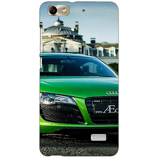 Jugaaduu Super Car Audi Back Cover Case For Huawei Honor 4C - J850619