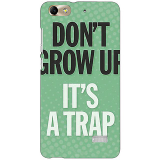 Jugaaduu Quote Back Cover Case For Huawei Honor 4C - J851348