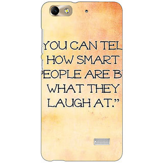 Jugaaduu Quote Back Cover Case For Huawei Honor 4C - J851357