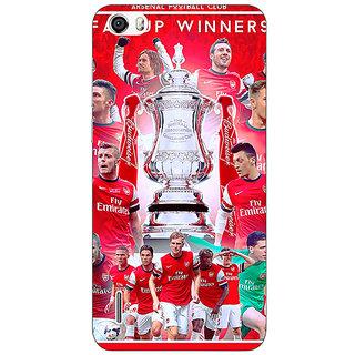 Jugaaduu Arsenal Back Cover Case For Huawei Honor 6 - J860516