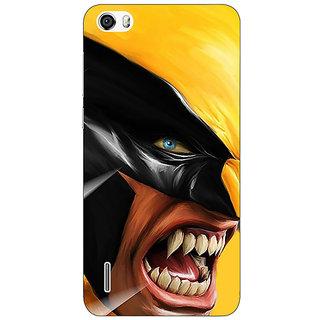 Jugaaduu Wolverine Hugh Jackman Back Cover Case For Huawei Honor 6 - J860891