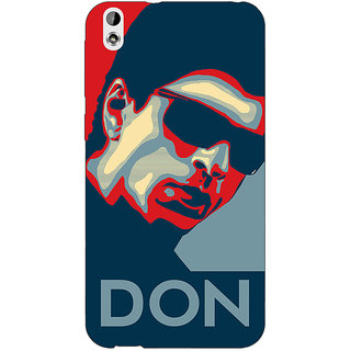 Jugaaduu Bollywood Superstar Don Shahrukh Khan Back Cover Case For HTC Desire 816 Dual Sim - J1061113