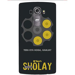 Jugaaduu Bollywood Superstar Sholay Back Cover Case For LG G4 - J1101085
