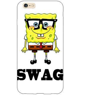 Jugaaduu Spongebob Back Cover Case For Apple iPhone 6S Plus - J1090473