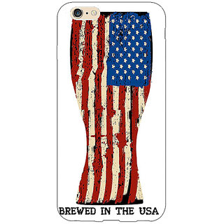 Jugaaduu USA Beer Back Cover Case For Apple iPhone 6S Plus - J1091213
