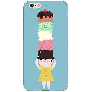 Jugaaduu Ice Cream Back Cover Case For Apple iPhone 6S - J1081340