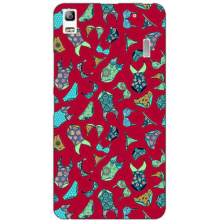 Jugaaduu Inners Pattern Back Cover Case For Lenovo K3 Note - J1120245