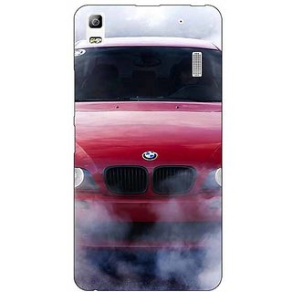 Jugaaduu Super Car BMW Back Cover Case For Lenovo K3 Note - J1120624