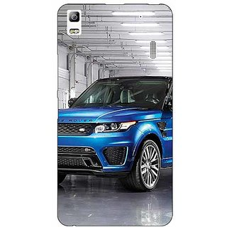 Jugaaduu Super Car Range Rover Back Cover Case For Lenovo K3 Note - J1120643