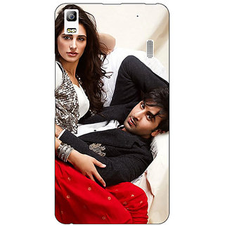 Jugaaduu Bollywood Superstar Nargis Fakhri Ranbir Kapoor Back Cover Case For Lenovo K3 Note - J1120973