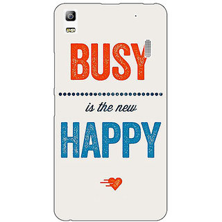 Jugaaduu Quote Back Cover Case For Lenovo K3 Note - J1121325