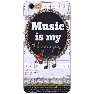 Jugaaduu Music Quote Back Cover Case For Huawei Honor 4C - J851402