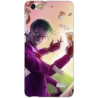 Jugaaduu Joker Back Cover Case For Huawei Honor 4C - J851441
