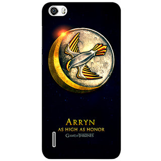 Jugaaduu Game Of Thrones GOT House Arryn  Back Cover Case For Huawei Honor 6 - J860170