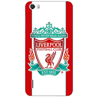 Jugaaduu Liverpool Back Cover Case For Huawei Honor 6 - J860544