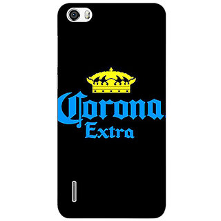 Jugaaduu Corona Beer Back Cover Case For Huawei Honor 6 - J861241