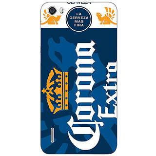 Jugaaduu Corona Beer Back Cover Case For Huawei Honor 6 - J861249