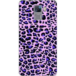 Jugaaduu Cheetah Leopard Print Back Cover Case For Huawei Honor 7 - J870079