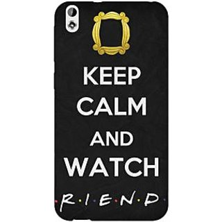 Jugaaduu TV Series FRIENDS Back Cover Case For HTC Desire 816 Dual Sim - J1060344
