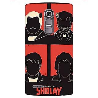 Jugaaduu Bollywood Superstar Sholay Back Cover Case For LG G4 - J1101124