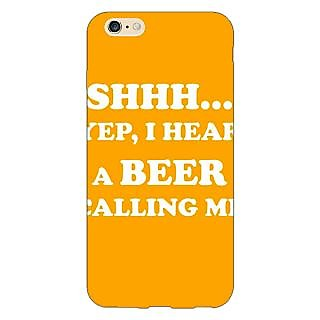 Jugaaduu Beer Quote Back Cover Case For Apple iPhone 6S Plus - J1091263