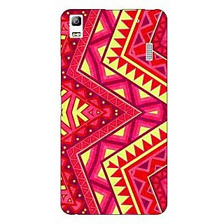 Jugaaduu Floral Pattern  Back Cover Case For Lenovo K3 Note - J1120667