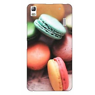 Jugaaduu Macaroons Back Cover Case For Lenovo K3 Note - J1120685