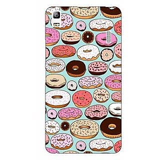 Jugaaduu Donut Love Back Cover Case For Lenovo K3 Note - J1120698