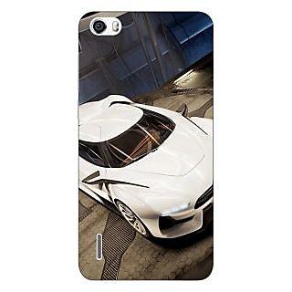 Jugaaduu Super Car Aston Martin Back Cover Case For Huawei Honor 6 - J860629